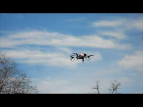 Vidéo HD AR.Drone 2.0 : Le vol du perroquet / The flight of the parrot