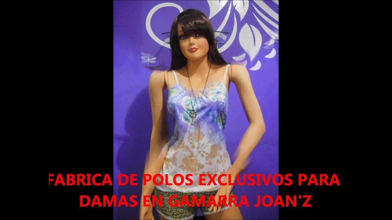 FABRICA DE POLOS EXCLUSIVOS PARA DAMAS EN GAMARRA JOAN\'Z 2 - YouTube