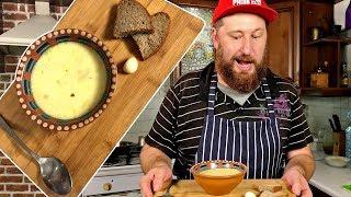 Очень легкий РЕЦЕПТ СЫРНОГО СУПА | Суп с плавленный сыром и овощами