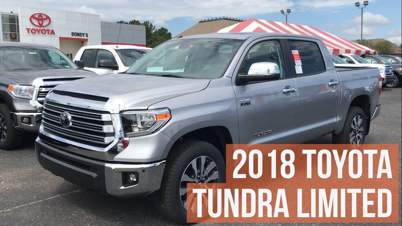 2018 Toyota Tundra Double Cab >> 2018 Toyota Tundra Limited CrewMax with Jonathan Sewell Sells at Bondy's Toyota in Enterprise ...