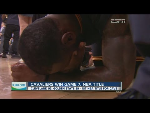 Cavaliers beat Warriors in Game to win NBA Title