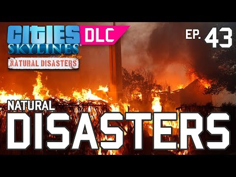 CITIES SKYLINES #43 - DESASTRES NATURAIS [DLC NATURAL DISASTERS]