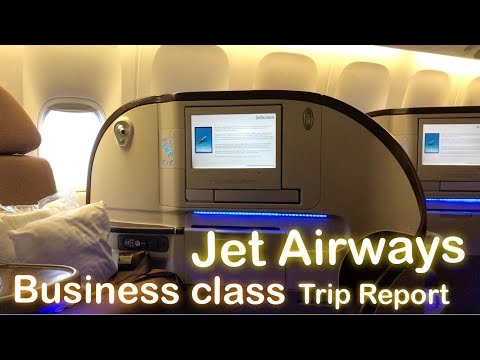 Jet Airways - Business Class Delhi-Amsterdam-Toronto 9W 234 Experience and Review