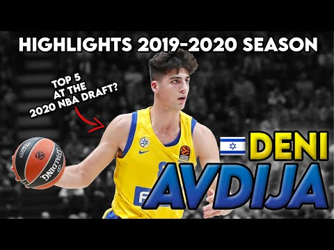 DENI AVDIJA 2019-2020 SEASON HIGHLIGHTS - Top Prospect NBA Draft 2020 - Full Highlights