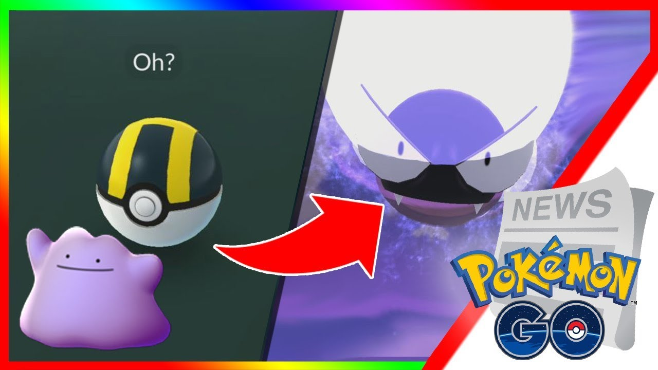 HOW TO CATCH DITTO IN POKEMON GO! Ditto Hiding in New Species! Find Ditto  for Pokemon GO Research
