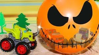 Вспыш и чудо машинки новые серии ЗЛОЙ ШАР Развивающие мультики про машинки Гонки игры для детей