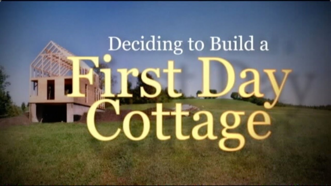 FirstDay Cottage House Kits For Owner Builders