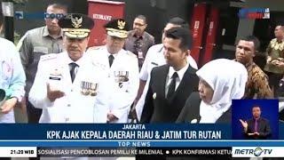 KPK Ajak Kepala Daerah Jatim dan Riau Tur Rutan