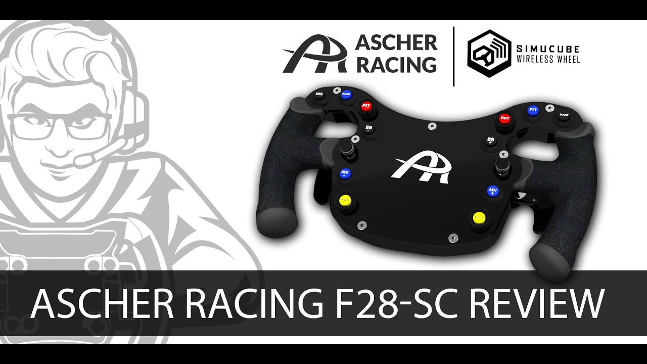 Ascher Racing F28 SC Wireless Wheel Review