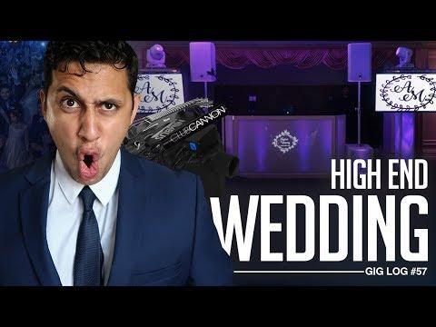 DJ GIG LOG: High End New York Wedding | Live Musicians, Co2 Blasters, & Dancing on a Cloud