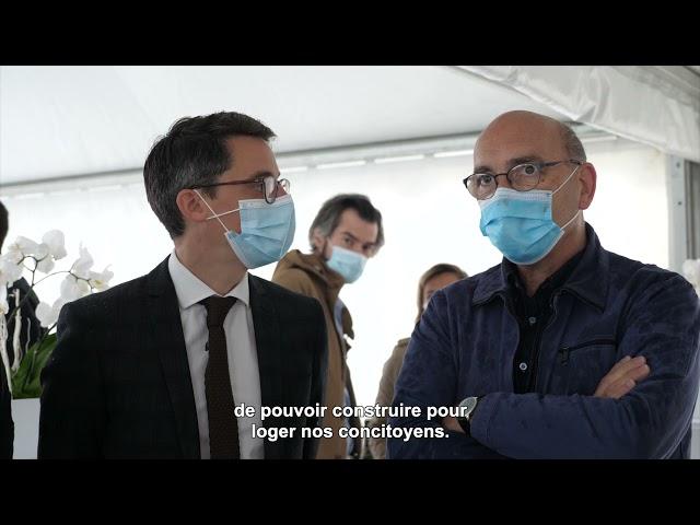 ALILA–1ère Pierre de L'OREE DE L'ERDRE Nort-sur-Erdre-Mr CAUDRON-DG de la Nantaise d'Habitations 1/2