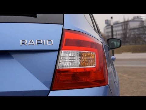 (ENG) Skoda Rapid Spaceback 1.2 TSI - Test Drive and Review