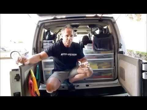 Mobile Auto Detailing Set-up: A Peak Behind the Scenes of Darren's Mobile Detailing Van