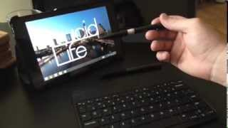 Dell Venue 8 Pro: New Stylus Review