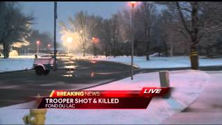 Trooper killed in Fond du Lac identified