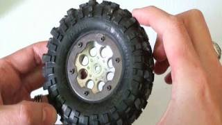Rc Adventures - Simple Tire Mod For Crawlers - Tread Patterns 1.9 & 2.2 Tires