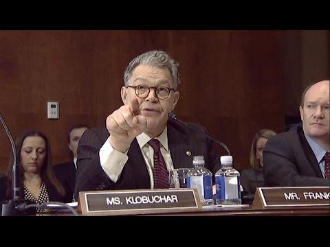Sen. Franken Rants Against Sessions Nomination- Full Speech In Judiciary Committee