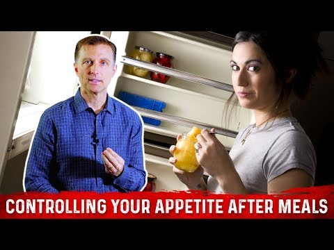 Controlling Your Appetite After Meals