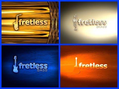 iFrettless Bass 🎻 iFretless Guitar 🎸 iFretless Brass 🎺 iFretless Sax 🎷 4 Amazing Apps - iPad Demo