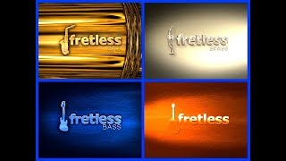 iFrettless Bass 🎻 iFretless Guitar 🎸 iFretless Brass 🎺 iFretless Sax 🎷 4 Amazing Apps - iPad Demo