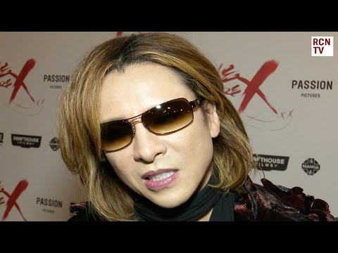 X Japan Yoshiki Interview We Are X Premiere