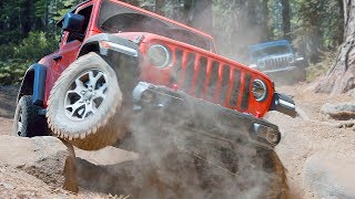 JEEP WRANGLER JL (2019) Off-Road Demonstration