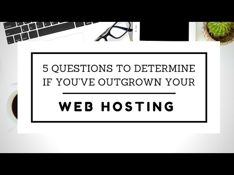 5 Questions to Determine If You've Outgrown Your Web Hosting | SEO Toronto