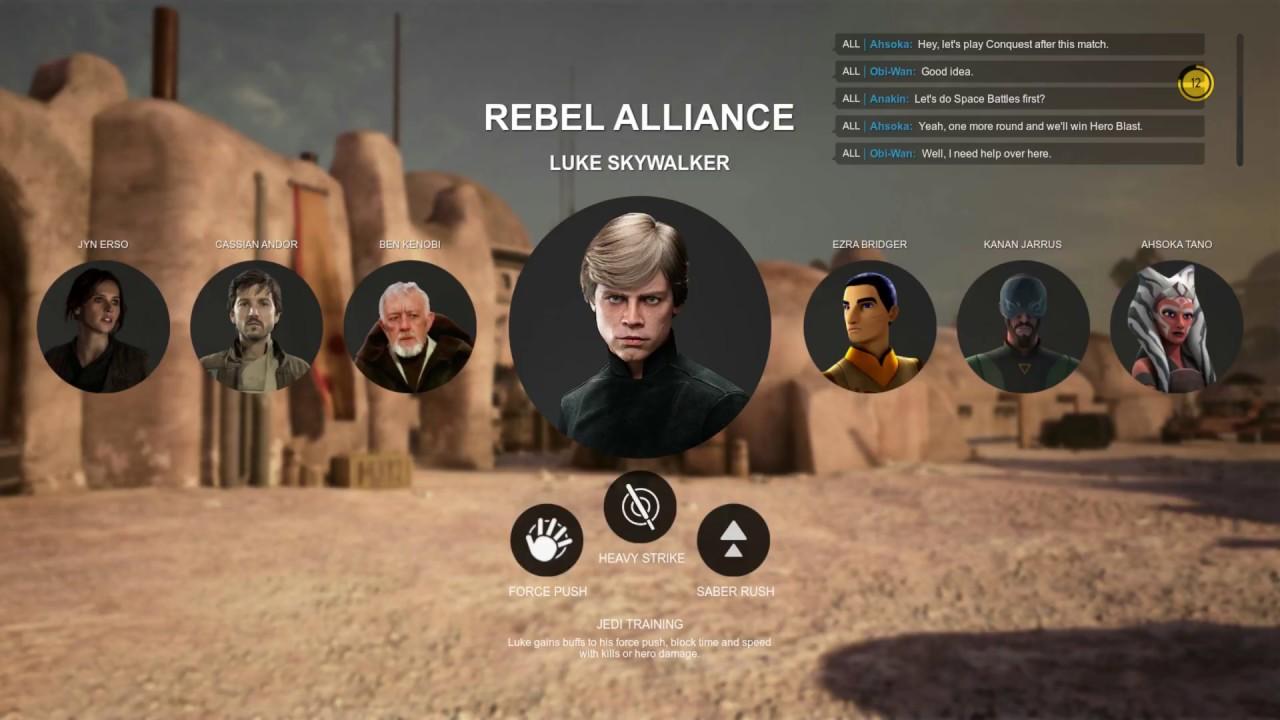 Star Wars Battlefront 2 EA Hero Concepts