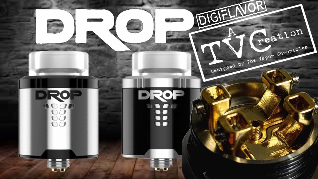 The DROP RDA By DIGIFLAVOR A TVCreation - YouTube