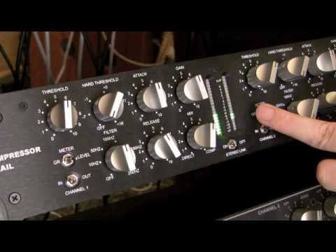 The A Designs Nail Compressor Controls Explained By Ronan Chris