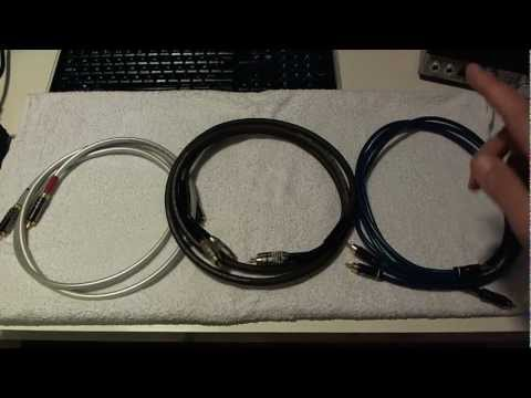 Cheap Analog RCA Audio Cable Performance and Differences