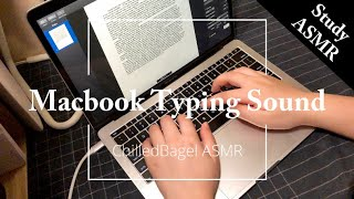 Fast Typing on Macbook Butterfly Keyboard (Long Ver.) | Focus Relax Study ASMR
