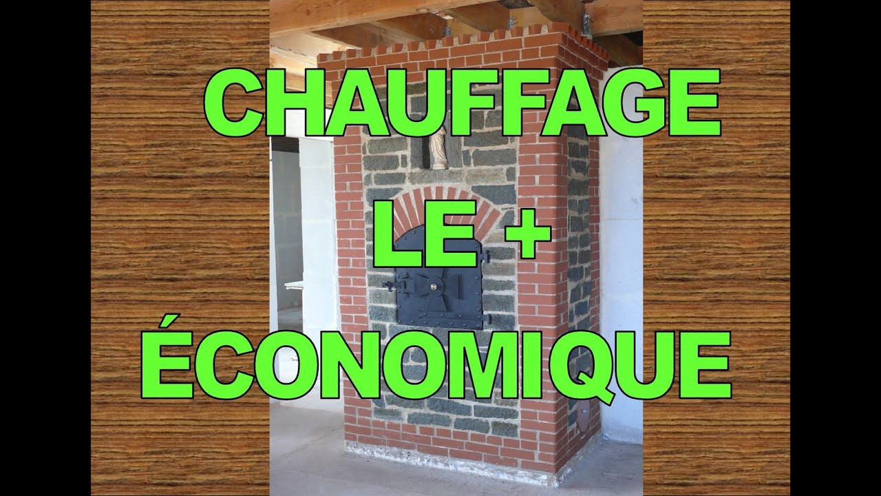 le plus conomique du chauffage au bois youtube. Black Bedroom Furniture Sets. Home Design Ideas