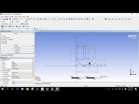 Design optimization (RSM) in Ansys workbench