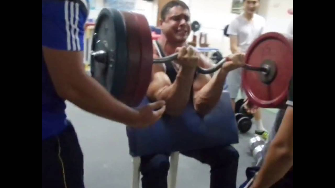 dmitry trubin trainig biceps 150 kg x 2 youtube