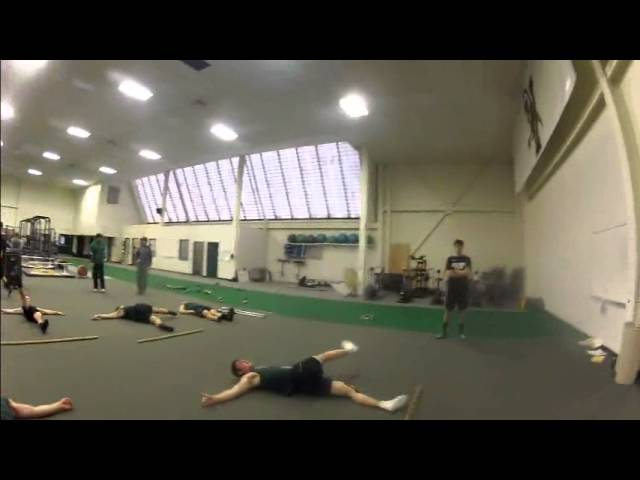Speed, Agility & Plyo Warm Up