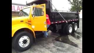 1999 International 4900 Tandem axle dump truck for sale