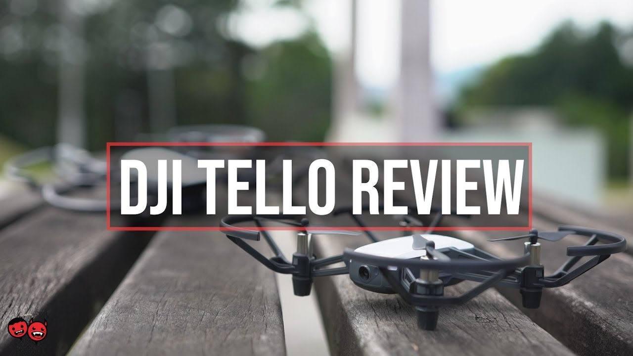 DJI Ryze Tello Drone Review