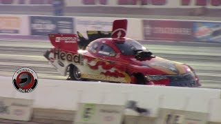2017 NHRA Toyota Nationals @ LVMS (Part 10 - Funny Car Qualifying session 2 Highlights)