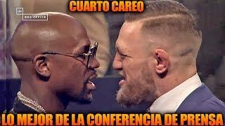 Cuarto cara a cara de McGregor vs Mayweather, Conferencia de prensa   UFC En Español