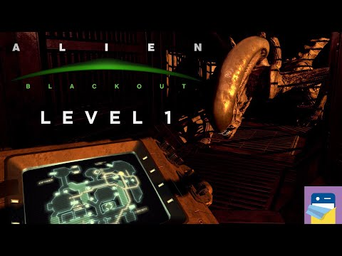 Alien: Blackout - Level 1 Engineering Bay, No Deaths Walkthrough + iOS / Android Gameplay (by D3PA)