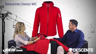 2016 Descente Swiss WC Mens Jacket Overview by SkisDotCom