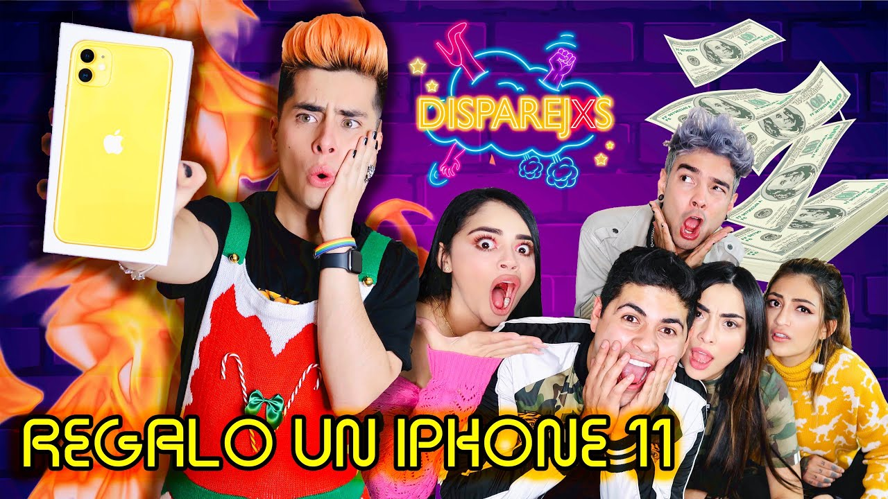 ESCOGE EL REGALO CORRECTO Y GANA 1.000 DÓLARES (iPhone 11)   DISPAREJXS