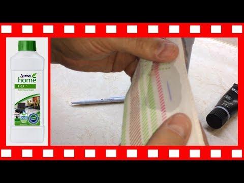 Amway: Как вывести пятно от шариковой ручки средством Амвей LOC