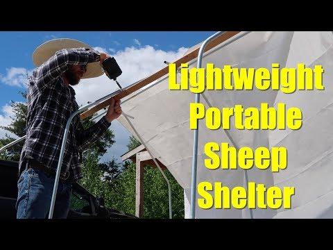 Lightweight Portable Sheep Shelter