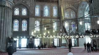 Isztambul 5 Kék mecset .156 videó