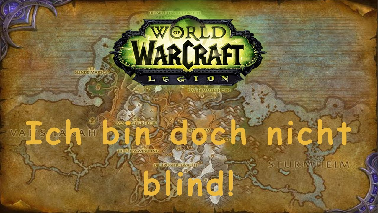 World Of Warcraft Quest Ich Bin Doch Nicht Blind Horde Youtube