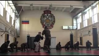 Мастер-класс по ножевому бою Сергея Соловьева для отряда спецназа Витязь