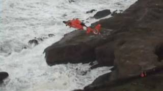 Coast Guard Rescues Surfer From Devils Punchbowl