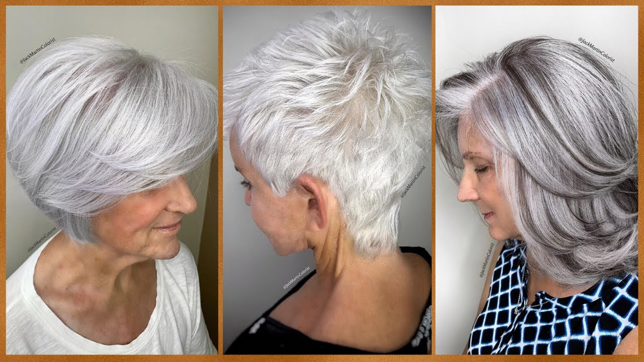 Stunning Short HairCut and Color Transformation 😮 Short HairStyle Ideas For Over 40